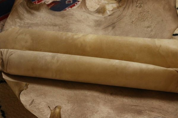 Parchment made from cow hide