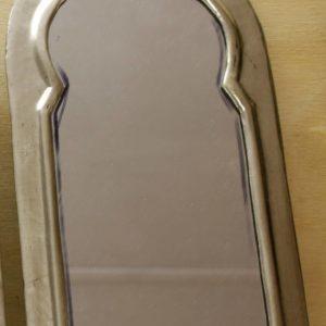 Door-shaped Mirrors - Nickel Silver