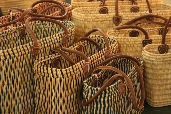 Hassera baskets - short handles