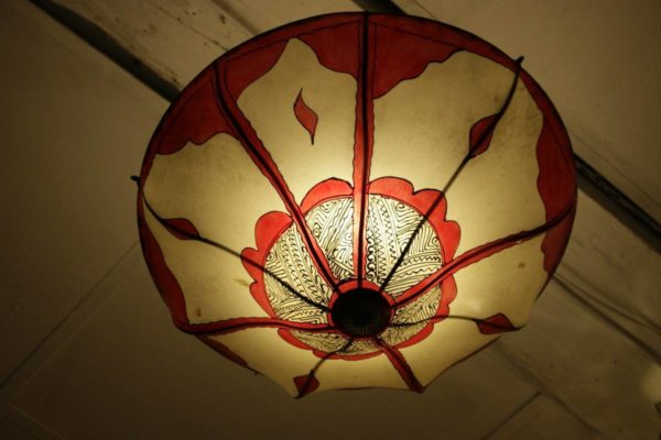 Round ceiling lamps