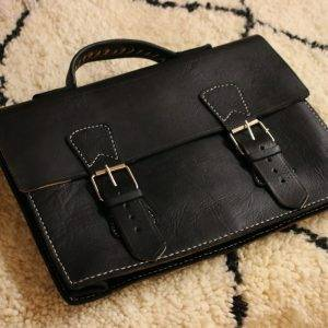 Leather bags made by Youssef