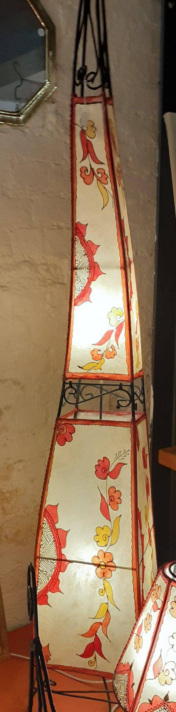 2m, double light, Cheval Henna lamp