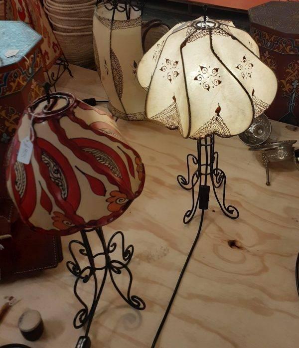 Henna Table Lights - natural & coloured Henna